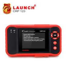 2017 New LAUNCH Creader CRP123 Code Scanner Creader Support for Multi Brand Car Diagnostic Tool CRP 123 Reader 7+ Car Scan Tool