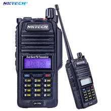 Professional Walkie Talkie Waterproof NKTECH IP57 UV-7RX With SOS FM Radio Station CB Ham Radio Two Way VS BAOFENG BF-A58 R760