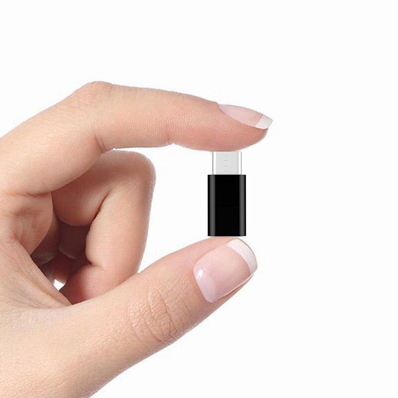 Ascromy 3PCS Type C Adapter For Xiaomi Mi A1 5X Mi5X Mia1 Oneplus 3t 5 3 LG g5 Samsung S8 Plus Micro USB to USB C Adapter Type-c (4)