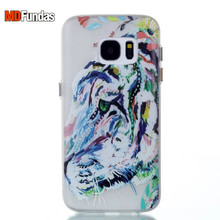 MDFUNDAS Case For Samsung Galaxy S7 G9300 Case Buttons Night Light Cover Colorful Print Case Soft Silicone TPU Protective Shell