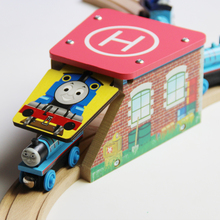 wooden thomas's Garage tunnel compatible fit Thomas and Brio Wooden Train Educational Boy/ Kids Toy Christmas Gift