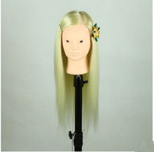 Free Shipping!!Top Level Training Mannequin Head With Hair Mannequin Head With Hair Manufacturer In Guangzhou