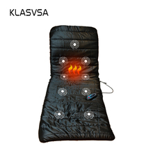 KLASVSA Vibrating Massage Mattress DC12V  Massage Cushion Sofa Bed electronic massage therapy bed Massage Relaxation massageador
