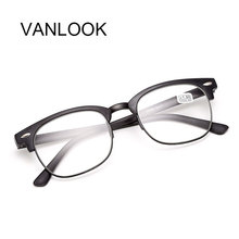 Women Reading Glasses Men Oversized Cheap Eyeglasses +1.00 +1.50 +2.00 +2.50 +3.00 +3.50 +4.00 Matt Black Brown