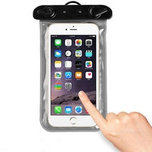 Universal Waterproof Phone Bag Case Cover Mobile Phone Pouch For Blackberry Z30 A10 Underwater Swimming Diving Sealed Bag A10(China)