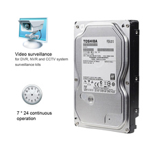 "TOSHIBA 1TB Video Surveillance HDD Internal Hard Disk Drive 5700 RPM SATA 6Gb/s 3.5"" 32MB Cache DT01ABA100V for Security System(China)"