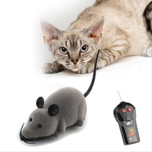 2017 Cat Toy Wireless Remote Control Mouse Electronic RC Rat Mice Toy Pet Cat Toy Mouse