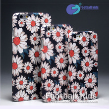 China supplier cell 2016 The white daisy mobile phone accessories ,design your own unique case for iphone 6 6plus 7  7 plus
