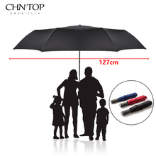 High Quality Brand Large Folding Umbrella Men Rain Woman Double Golf Business Gift Umbrella Automatic Windproof Umbrellas