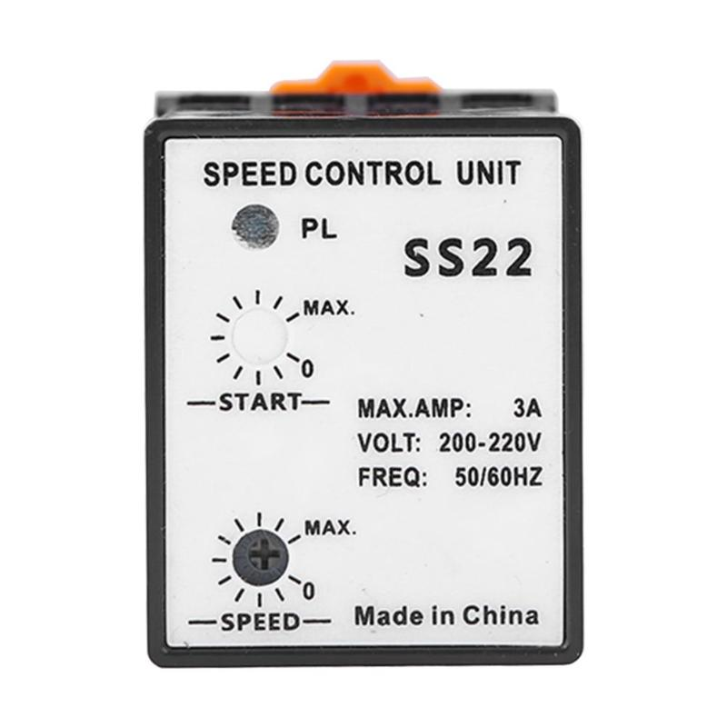 SS22 Separate Motor Speed Control Unit AC 400W Speed Adjusting Device Controller