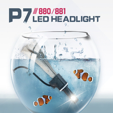 LED H7 H4/H13 H3 H11 9005 9006 H1 880 Bulb Auto Front Bulb Automobiles Headlamps 6000K CE BoomBoost Super Bright Car Headlights(China)