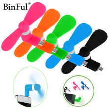 BinFul Mini Micro USB gadget Electric Fan gadgets Cooler Cooling For Android Phone For Samsung LG Tablet