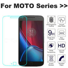 Tempered Glass Screen Protector Case For Motoroal Moto E G E2 G2 X2 G4 X Plus Style Z Play Droid Turbo Nexus 6 Film Guard Case(China)