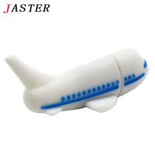 JASTER Aircraft Usb flash drive 8GB 16GB 32GB mini airplane shape pen drive real capacity wholesale price plane usb creativo