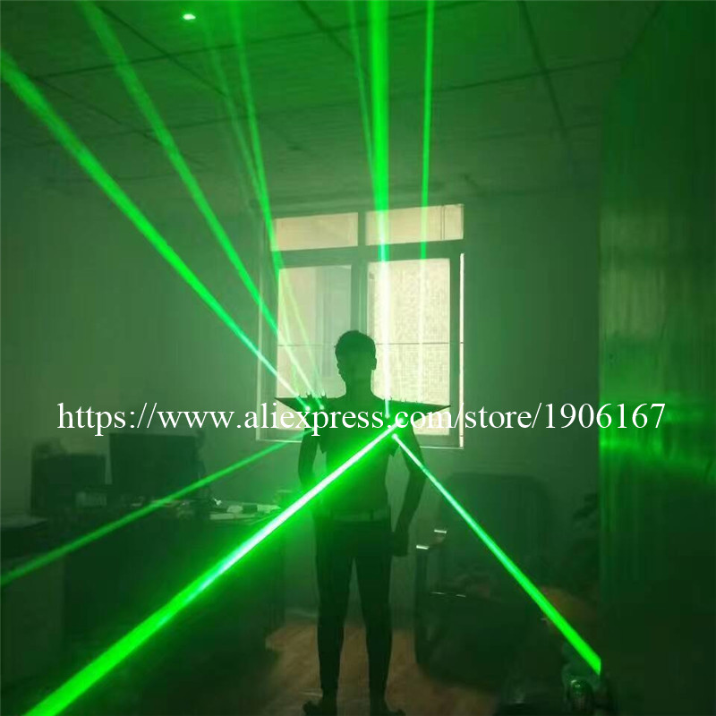 Fashion Red color men Laser vest Costumes cloth suit LED laser bar party props performing luminous clothing dj disco dress show05