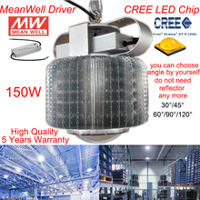 CREE LED high bay industrial light MeanWell Driver 150w led high bay light /AC85-265V 5 Years Warranty Free Shipping