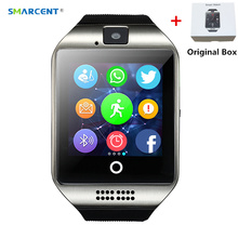Buy SMARCENT S1 Bluetooth Smart Watch Camera facebook Sync SMS MP3 WristWatch Support Sim TF IOS Android Phone pk GT08 DZ09 for $10.15 in AliExpress store