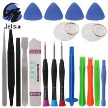 Jelbo 20 in 1 Tools Set Hand Tools Set Mobile Phone Repair Tools Kit Opening Tool Screwdriver Set for iPhone Samsung Cell Phone