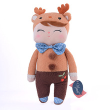 Plush Sweet Cute Lovely Stuffed Baby Kids Toys for Girls Birthday Christmas Gift 13 Inch Deer Angela Rabbit Girl Metoo Doll(China)