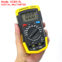 2017 hot sale Hight quality XC6013L Digital Multimeter Capacitance Capacitor Tester gauge test tools wprobes Meter free shipping(China)