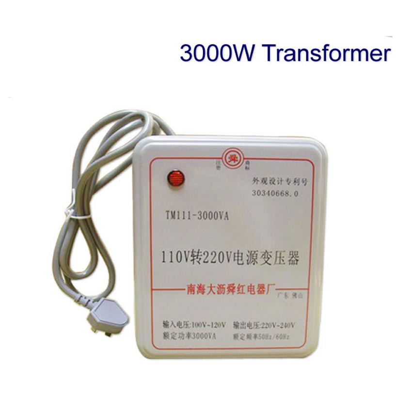 1PC 3000W transformer 110V to 220V(or 220V to 110V) voltage converter transformer<br>
