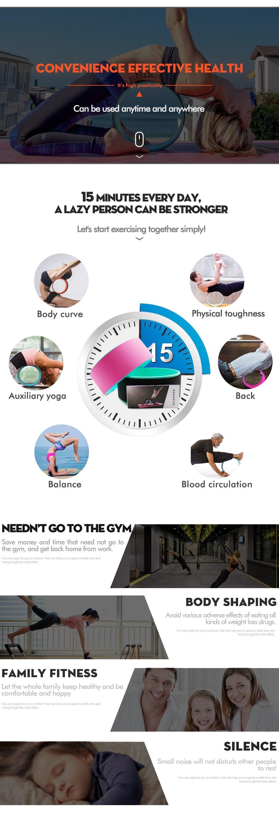 Yoga Wheel Back Training