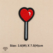 1pcs Lollipop iron-on transfers patches for clothing Embroidered Appliques DIY Apparel Accessories Fabric Badges