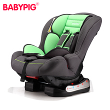 Child Safety Car Seat Baby Car Seat with Base for 0-4 Years Old Two-way Installation 4-gear Adjustment Can Sit & Lie Down