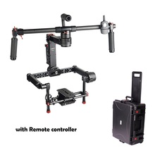 CAME-TV CAME-Prodigy Cane Prodigy 3-Axis Gimbal Portable Stabilize for Camera 32-bit Boards with Encoders with Remote+Carry Case