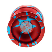 New arrive free shipping MTE YOYO Professional Butterfly Metal yoyo Best gift for children 2 color Can choose(China)