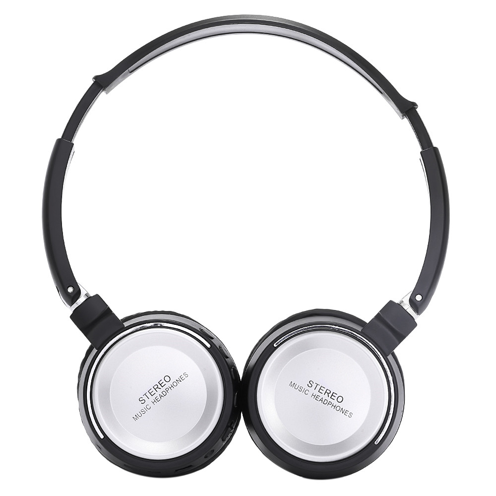 BT823 Wireless Earphone 3 in 1 Multifunctional Stereo Headphone Bluetooth Headset with Mic MP3 TF Card FM Radio