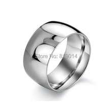 men's glossy personalized 316L titanium steel men's rings that wear smooth THUMB ring anel anillos para los hombres