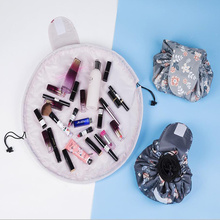 Buy Women Makeup Storage Bag Large Capacity Cosmetic Organizer Portable Drawstring Waterproof Travel Storage Tote Organization for $3.62 in AliExpress store