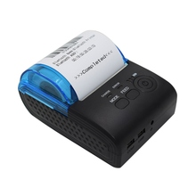 58mm Bluetooth 4.0 Android 4.0 POS Receipt Thermal Printer Bill Machine for Supermarket EU / US / UK PLUG(China)