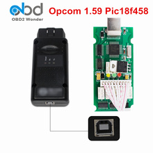 Best Price OP COM V1.59 OP-COM OBD2 Diagnostic Interface OP COM Firmware V1.59 SW 2012V OPCOM With PIC18F458 Chip For Opel Cars(China)