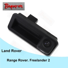 BOQUERON for Land Rover Range Rover Freelander 2 Trunk Handle HD CCD Waterproof Car Camera reversing backup rear view camera(China)