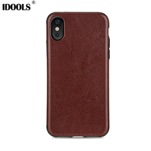 IDOOLS For Apple iphone X Case Dirt Resistant Luxury Coque 5.8 inch Quality Picks Mobile Phone Bags Cases For iphoneX iphone 10(China)
