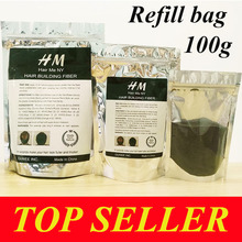 Toppik refill bag 100g Instantly Hair Growth Fiber  Protein Hair Regrowth Treatment hair loss & bald patch fiber 9 color