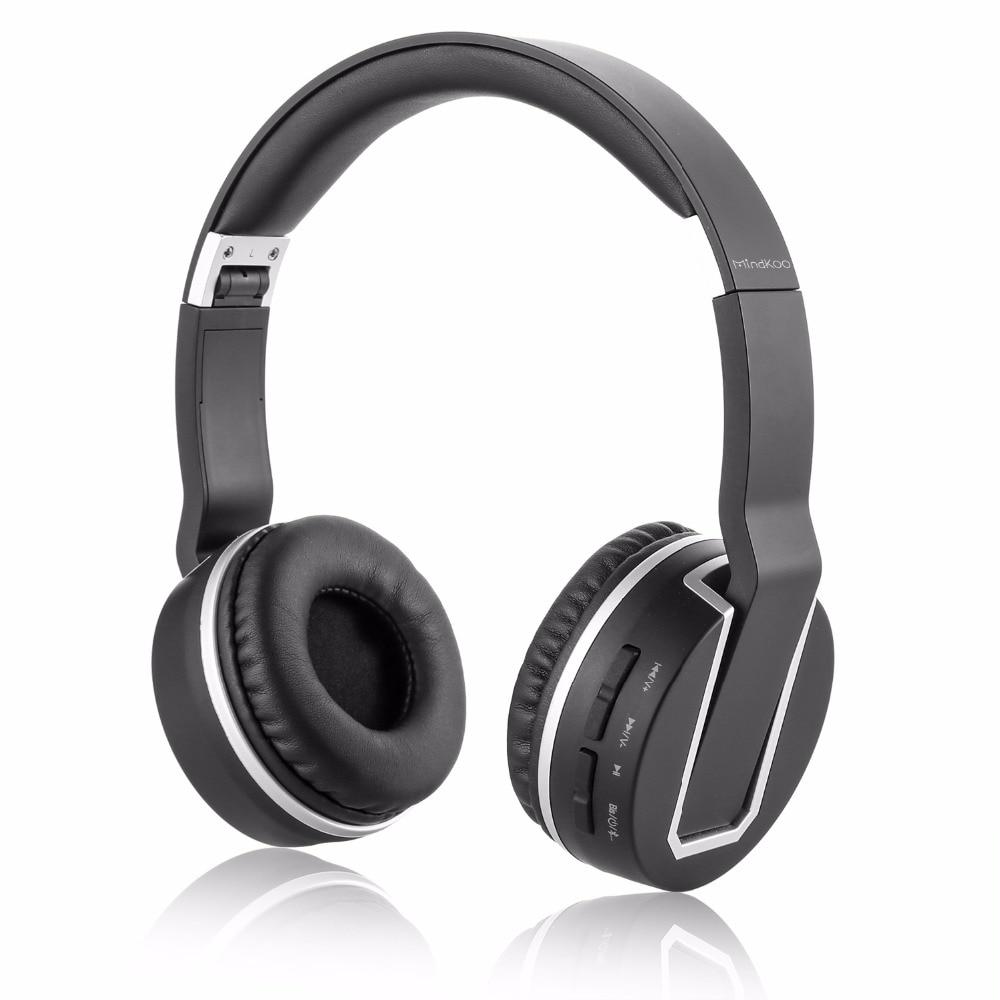 Mindkoo H-004 Bluetooth Stereo Headphones Wireless Headphones Bluetooth 4.0 Headset Over the Ear Headphones<br><br>Aliexpress