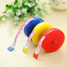 Multi-color Sewing Retractable Ruler Tape Measure 1.5M 150CM Tailor Seamstress Flexible Sewing Cloth Messure Accessaries(China)