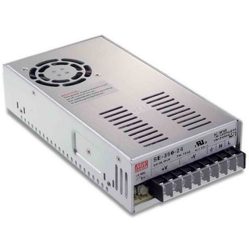 Meanwell SE-350 DC 12V to 48V input 350W Single Output Switching Power Supply<br>