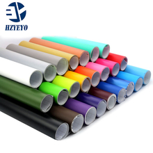 HZYEYO 300cm*70cm Good quality Matte Car Auto Body Sticker Decal Self Adhesive Wrapping Vinyl Wrap Sheet ,T-005B(China)