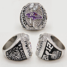 2012 Baltimore Ravens Super Bowl Replica Championship Ring For Men , 2017 Best Birthday Christmas Gifts(China)