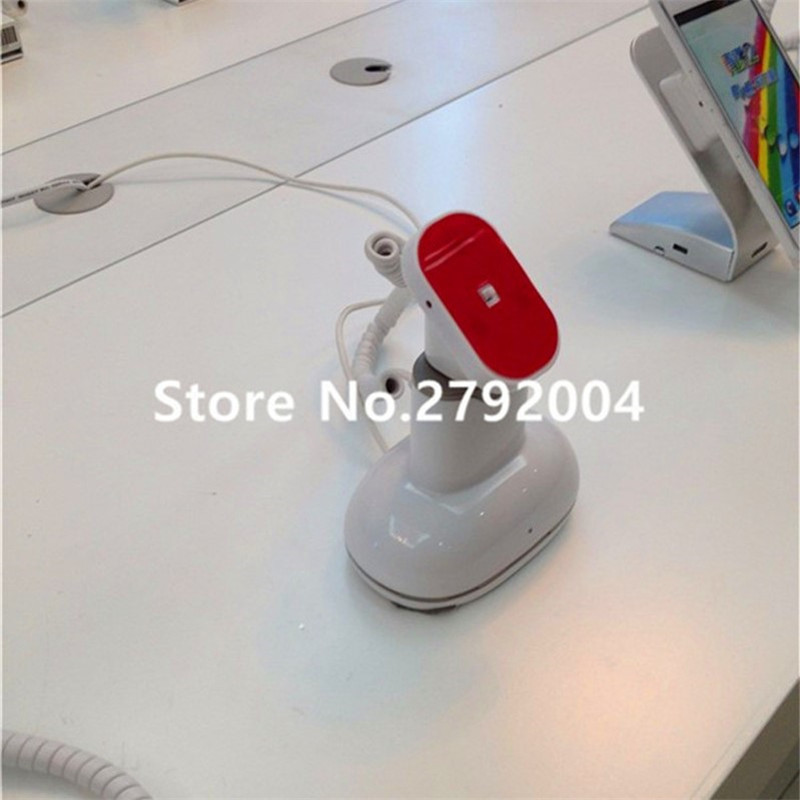 5 set/lot ABS plastic holder charge Cellphone Mobile Phone Security Display Anti-theft Alarm<br>
