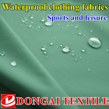 1.5m*1m  upscale Outdoor leisure sports apparel  waterproof  Grid  polyester pongee fabric