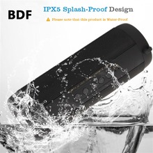 BDF Wireless Best Bluetooth Speaker T2 Waterproof Portable Outdoor Mini Column Box Loudspeaker Speaker Design for iPhone Xiaomi(China)