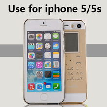 No Jailbreak Dual SIM card dual standby sim adapter make call SMS of Socool long standby battery for iPhone 5/5s