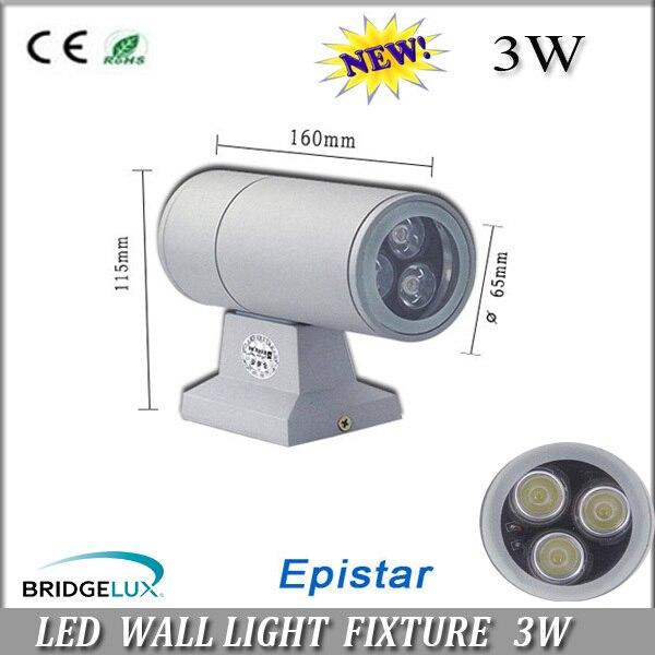 waterproof IP65  3W/6W light downward light  LED wall mounted garden porch light  100-110Lm/w  on promotion<br><br>Aliexpress
