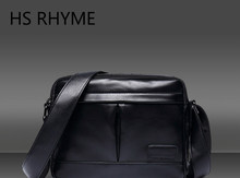 HS RHYME High Quality Men Messenger Bags Fashion Trend School Casual Single Shoulder Satchel Male Cross Body Bag For Traveling(China)