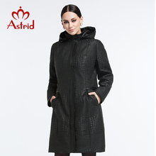 Astrid New 2015 High Quality Warm Women Winter Jacket Solid Color Coat Fashion Long Slim Wadded Thick Parka Female AM-1500